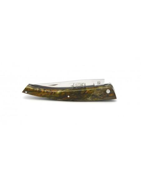 Le Thiers ® manche 12 cm en bouleau stabilisé vert