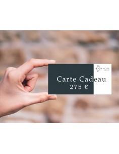 Carte cadeau 275 €